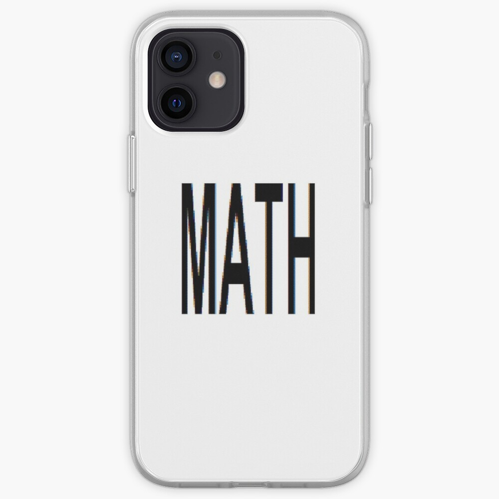 Math, Mathematics, Science, #Math, #Mathematics, #Science iPhone Case