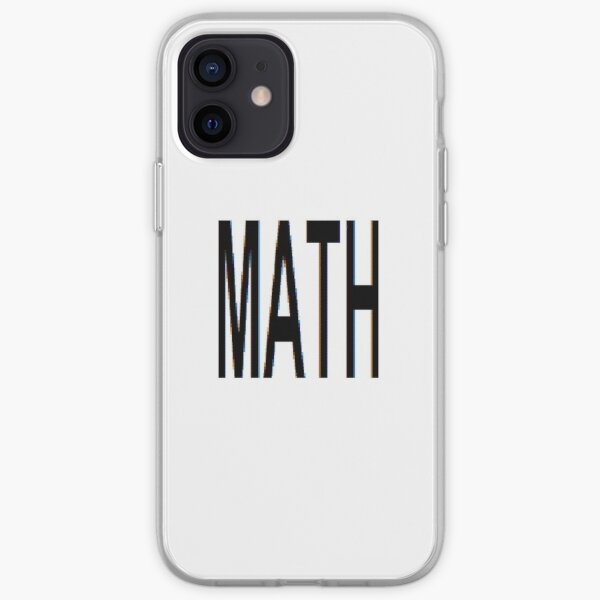 Math, Mathematics, Science, #Math, #Mathematics, #Science iPhone Soft Case