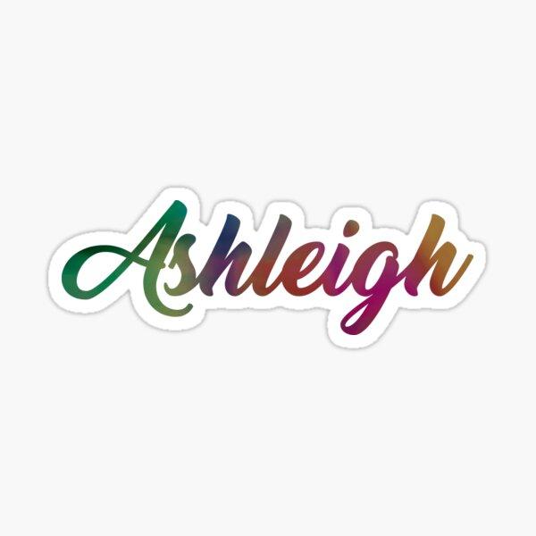 Ashleigh Sticker