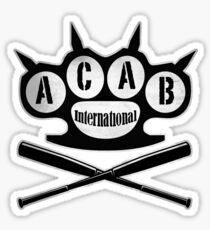 A.C.A.B Hooligans-Ultras Sticker