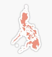 Philippines Love in Peach Sticker