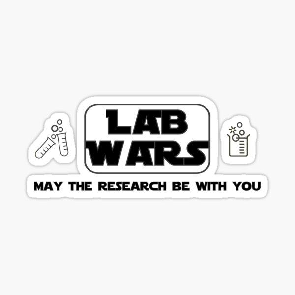 Science ThemedMad Lab Rat on Board Sticker