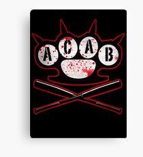A.C.A.B Hooligans Canvas Print