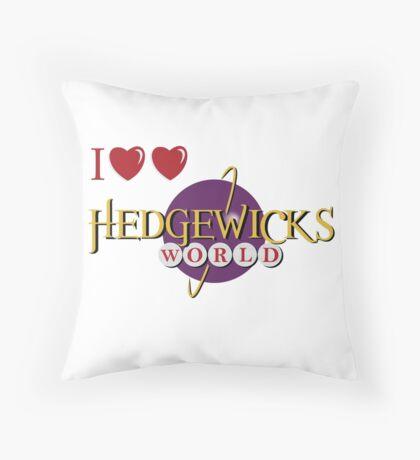 Love Love Hedgewick's World Throw Pillow