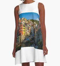Riomaggiore - Cinque Terre, Italy A-Line Dress