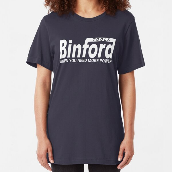 Binford Tools - Home Improvement Slim Fit T-Shirt