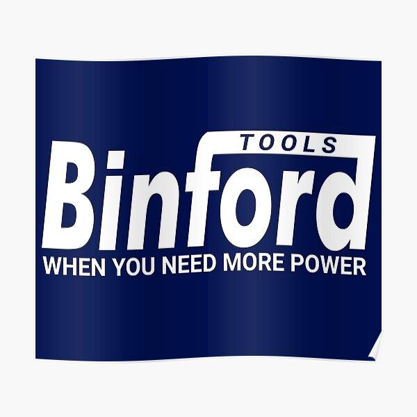 Binford Tools - Home Improvement Poster