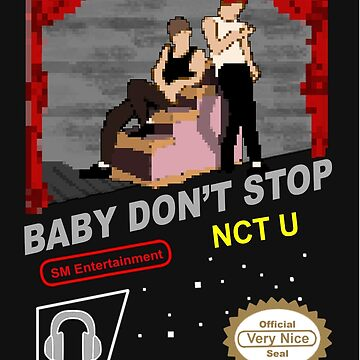 NCT U Classic Video Game by VeryNiceDesigns