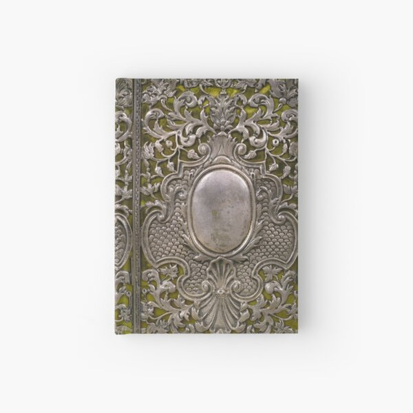 Silver & velvet antique book cover, Netherlands c1705 Hardcover Journal
