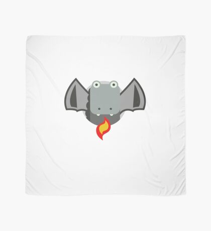 Cute Dragon Grey Scarf