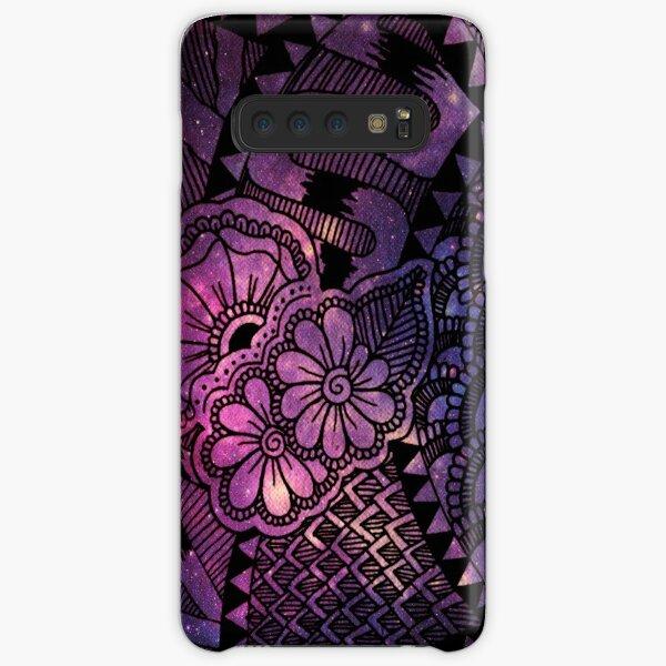 Space Floral Samsung Galaxy Snap Case