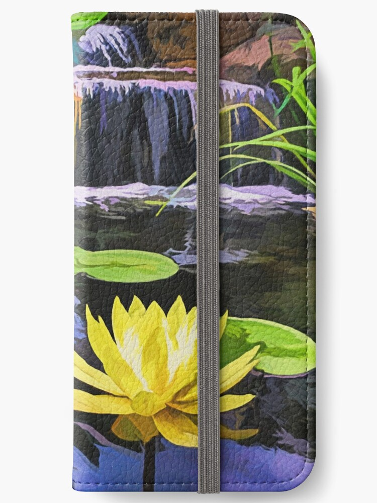 Lily pads and Flower by Walter Colvin
