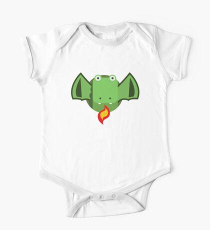 Cute Dragon Green Kids Clothes