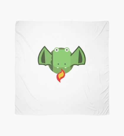 Cute Dragon Green Scarf
