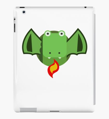 Cute Dragon Green iPad Case/Skin