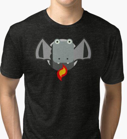 Cute Dragon Grey Tri-blend T-Shirt
