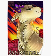 Sandstorm Portrait Poster