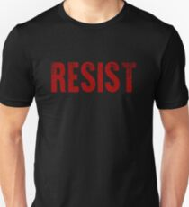 Mens and Womens T-Shirts Resist Tee United States of America Protest Rebel Political T Shirt Unisex T-Shirt