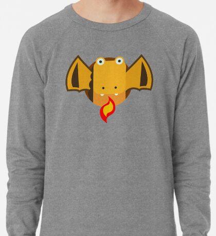 Cute Dragon Orange Lightweight Sweatshirt