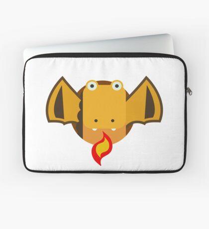 Cute Dragon Orange Laptop Sleeve
