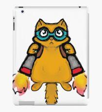 jetpack cat iPad Case/Skin