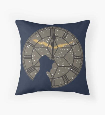 Time of The Doctor Throw Pillow