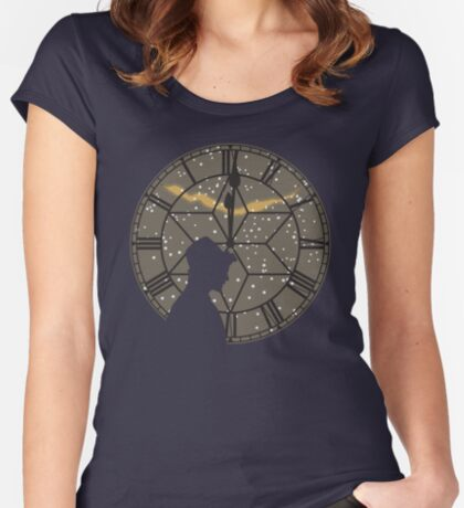 Time of The Doctor Fitted Scoop T-Shirt