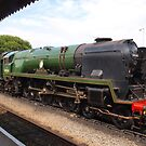 Braunton in the Station by kalaryder