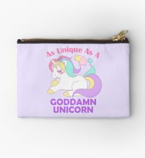 As Unique as a Goddamn Unicorn Studio Pouch
