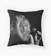 Fading into the break Throw Pillow
