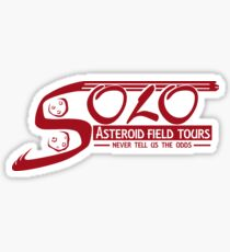 Solo Asteroid Field Tours Sticker