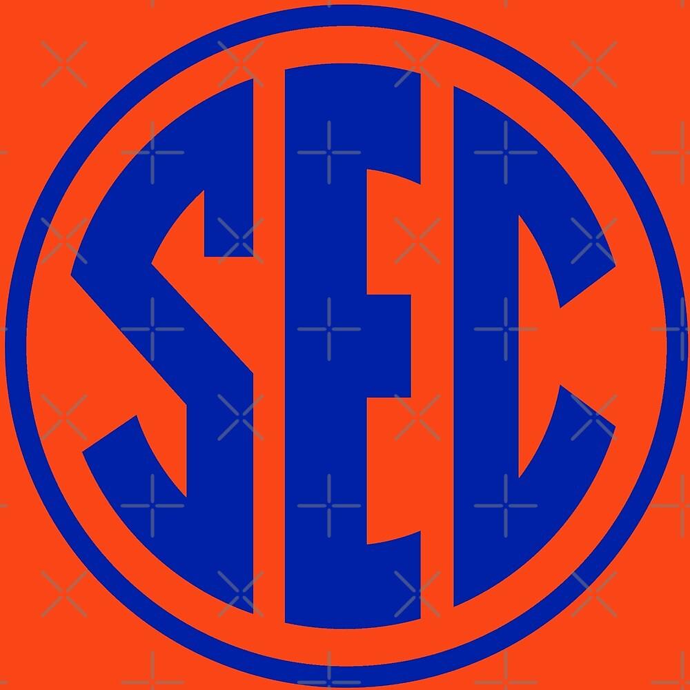 Florida Gators Sec Logo By Jpb501 Redbubble