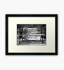 Empty Seat Framed Print