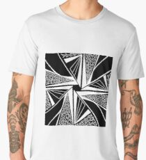 Spiderweb Abstract Design Men's Premium T-Shirt