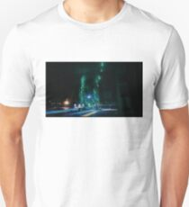 The Night Shifts to Blue Unisex T-Shirt