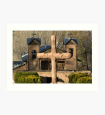 Santuario de Chimayo, Good Friday 2009 Art Print