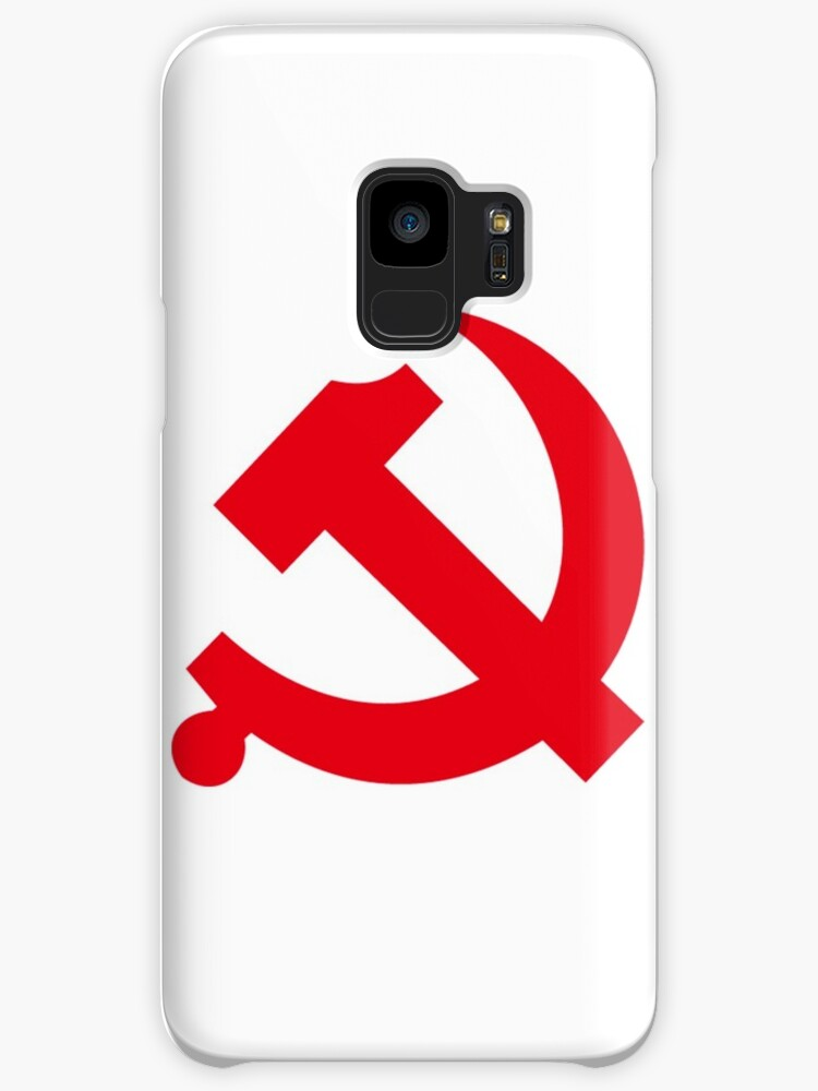 Communism Symbol Hammer Sickle Cases Skins For Samsung Galaxy By
