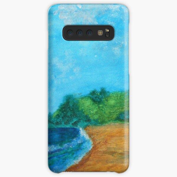 At the beach Samsung Galaxy Snap Case