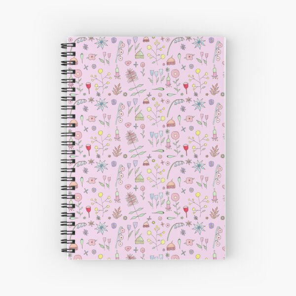 Betty's PINK Garden!  Spiral Notebook