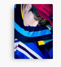 BTS LOVE YOURSELF HER JUNGKOOK ARCADE PHOTO Canvas Print