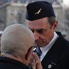 War veterans talking by imogen
