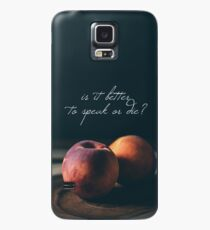 Call Me By Your Name // peach Case/Skin for Samsung Galaxy