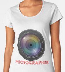 photographer Women's Premium T-Shirt