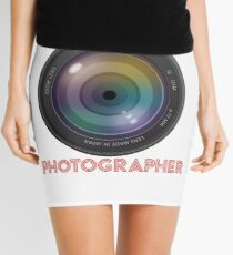 photographer Mini Skirt