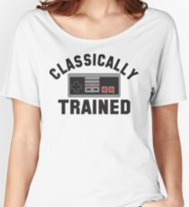 Classically Trained Nintendo T-Shirt Women's Relaxed Fit T-Shirt