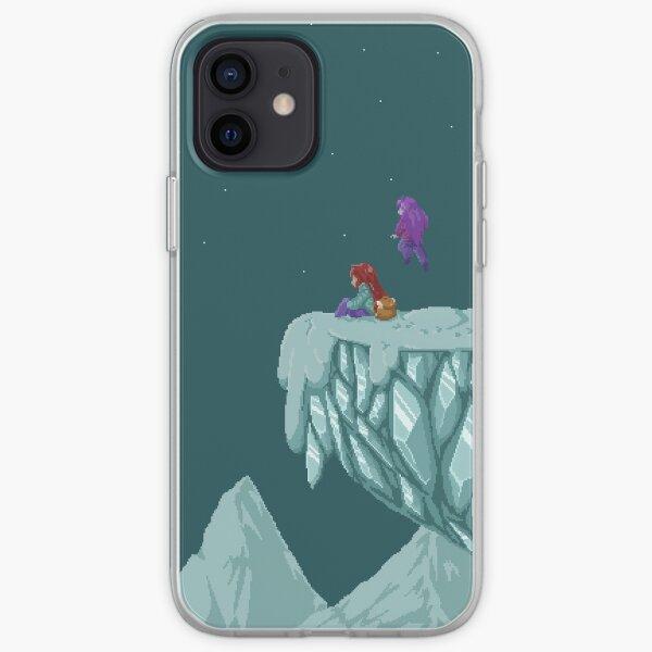 Le sommet de la montagne - Celeste Coque souple iPhone
