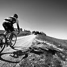Simon Gerrans, Strade Bianche by Eamon Fitzpatrick