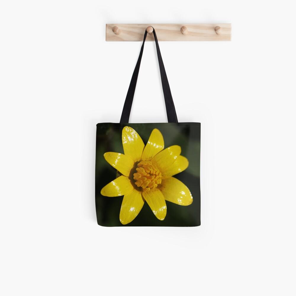 Helles Gelb Stofftasche