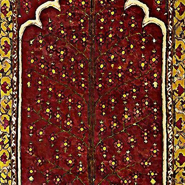 the sacred tree - persian carpet motifs by almawad