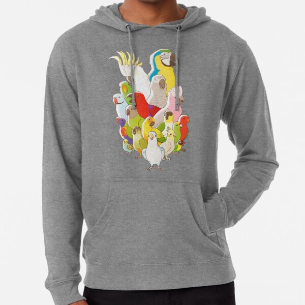 Parrot Party Lightweight Hoodie